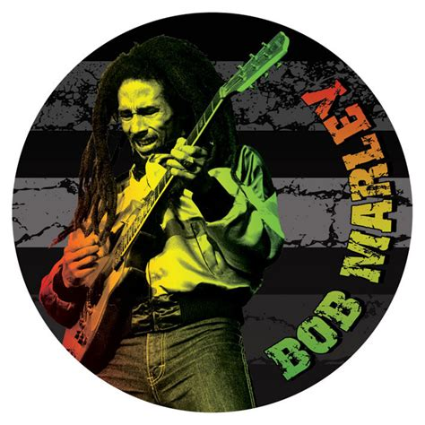 bob marley guitar sticker sold at europosters