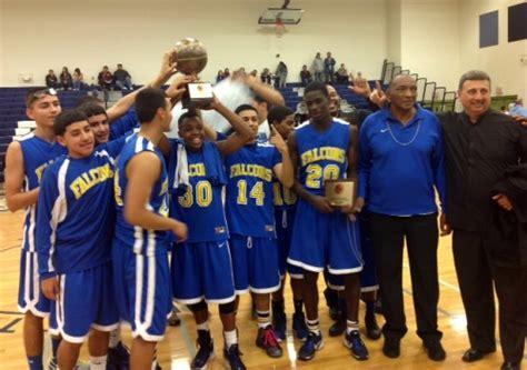carl hayden dusts  basketball championship trophy case