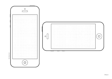 sketch iphone template best photos of iphone 5 design template free printable iphone templates iphone 5 template and