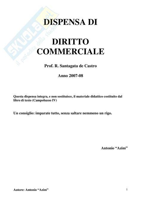Dispensa Diritto Commerciale by Figura Dell Imprenditore