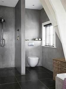 beton mineral salle de bain 5 la salle de bain avec With salle de bain minerale