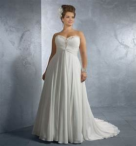 Elegant plus size wedding dress patterns wedding ideas for Plus size wedding dress patterns