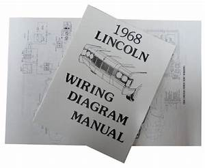 Buy 1968 Lincoln Continental Wiring Diagram Manual Motorcycle In San Diego  California  United