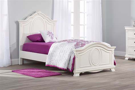 child twin bed bed isabelle white oxford baby 11084