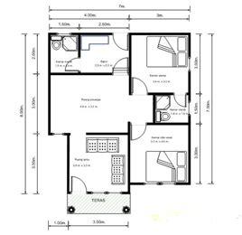 rumah minimalis cat abu abu