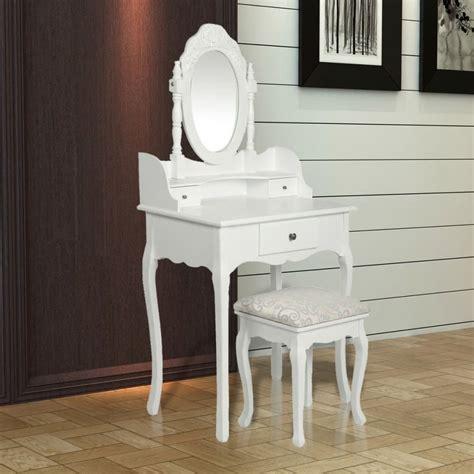 siege coiffeuse la boutique en ligne coiffeuse blanche siège avec miroir