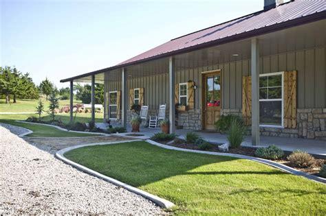 Morton Building Homes Metal Pole Barn