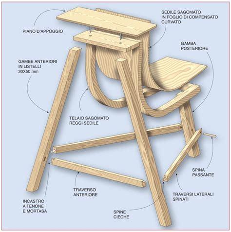 costruire una sedia come costruire una sedia multiuso fai da te