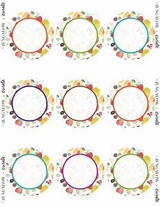 focus on healthy living free printable labels With circular labels for printing