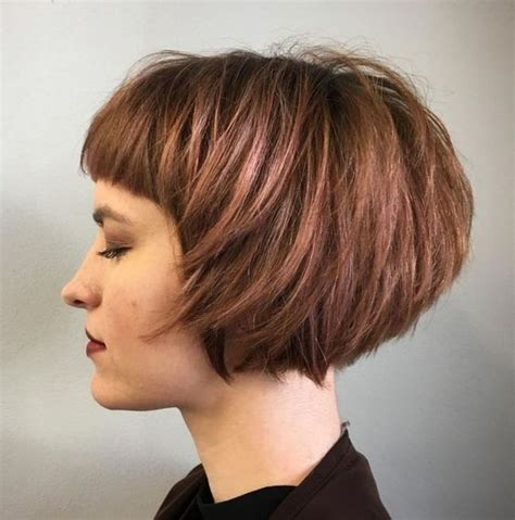 easy straight bob hairstyles  beautiful balayage