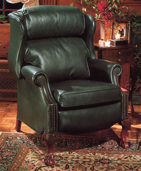 high quality leather recliner maxwell by bradington