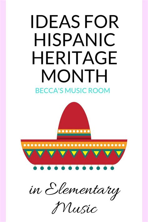 Ideas for Hispanic Heritage Month - Becca's Music Room in ...