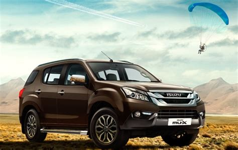 Isuzu Mu-x Launched In India