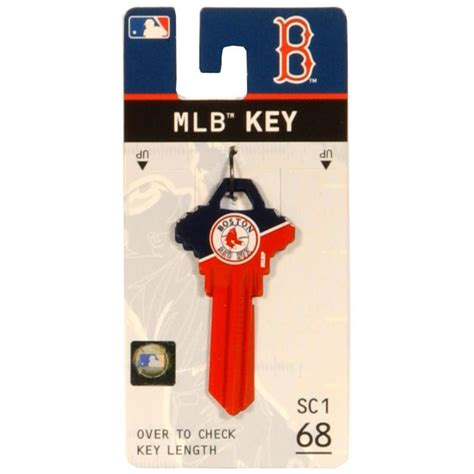 mlb paint colors lowes fanatix boston red sox brass house entry key blank at