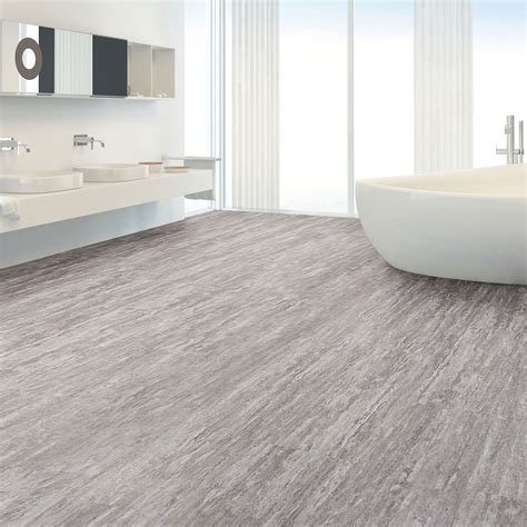 b and q kitchen flooring grey effect waterproof luxury vinyl click 7537