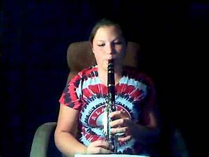 Tutorial Chromatic Scale And Chart Bb Clarinet