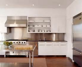stainless steel backsplash kitchen inspiration from kitchens with stainless steel backsplashes