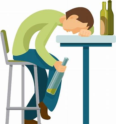 Cartoon Alcohol Abuse Recovery Treatment Clipart Unplugged