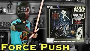Unbox  Star Wars Force Push  Role Play Action Set