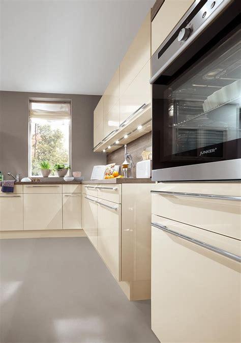 Moderne-einbauküche Norina 3648-magnolia-hochglanz