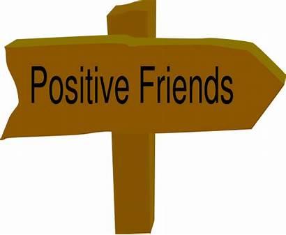 Clip Clipart Positive Friends Friendship Positivity Cliparts