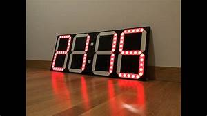 Diy Big Digital Clock