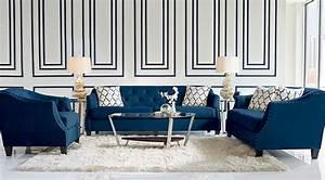 Navy Blue Gray White Living Room Ideas Decor On Navy Blue