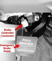 brake controller wiring adapter  location  brake