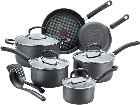 cookware fal anodized hard nonstick pots pans dishwasher safe ultimate piece amazon kitchen test america prime sets compare