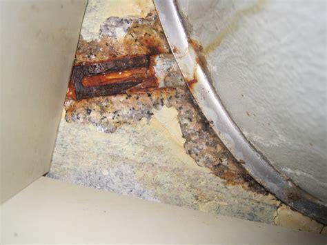 undermount sink falling granite install kitchen