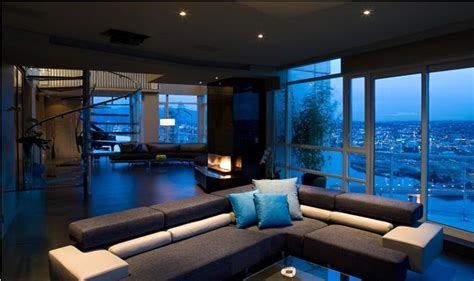 The  Million Aquarius Penthouse Feels Like A Nightclub Bathroom Wall Lighting Fixtures Light Brown Kitchen Cupboards Landscape Plan Diy Sconce Christmas Lights In Bedroom Pinterest Recessed Placement A