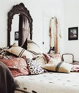 Tete De Lit Chic : 1001 projets et id es g niales de t te de lit faire soi m me ~ Melissatoandfro.com Idées de Décoration