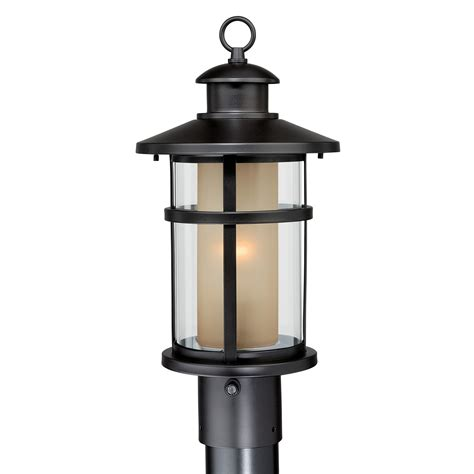 lowes l post lights cascadia lighting cadiz 1 light outdoor post light lowe