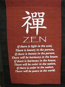 start with the ... Peaceful Zen Quotes