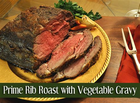 The primal ribs are usually nine in number and the prime rib can be located around the centre of the ribs. Prime Rib Roast with Vegetable Gravy - Go Rare