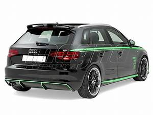 Audi A3 8v : audi a3 8v newline rear bumper extension ~ Nature-et-papiers.com Idées de Décoration