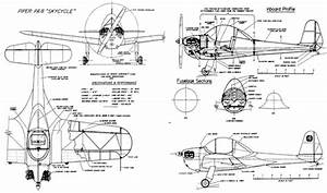 Piper P A 8 Sky Cycle Plans
