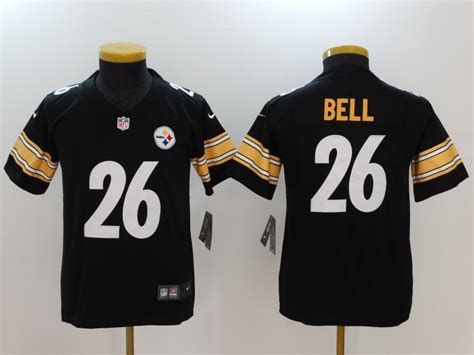 Cheap Youth Nike Pittsburgh Steelers #26 Le'veon Bell
