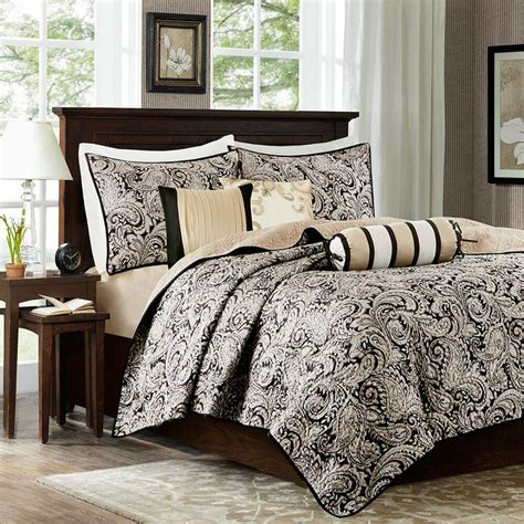 Quilted Coverlet Set by Park 6 Quilted Coverlet Set Ebay