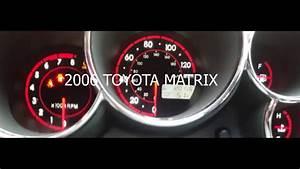 Toyota Matrix Engine Light
