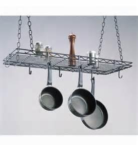 kitchen island with hanging pot rack kitchen hanging pot rack in hanging pot racks