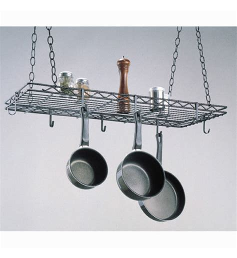 kitchen hanging pot rack in hanging pot racks