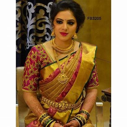 Saree Silk Soft Traditional Ltfab Colored Blouse