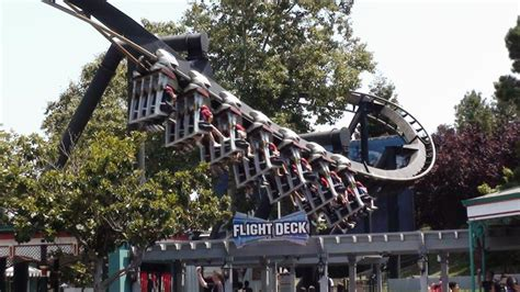 Flight Deck Troline Park by 2 Injured At Great America Amusement Park