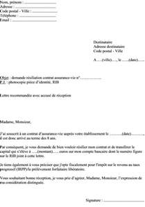 Résiliation Contrat Assurance Vie infodemarches s blog actualit 233 s informations pratiques