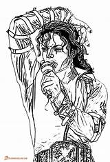 Jackson Coloring Michael Printable Thriller Vey Adult Template Happykidsactivity Michaels Dentistmitcham Entitlementtrap Superman sketch template