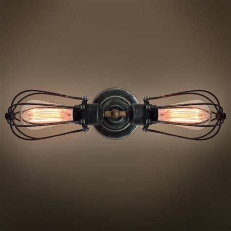 2 armed squirrel cage wall sconce westmenlights touch