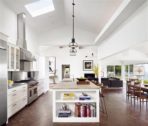 Bright Kitchen Lighting Ideas - modern ranch house mark ashby design