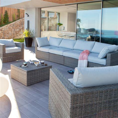 canapé de jardin castorama castorama 30 nouveautés pour la terrasse et le jardin