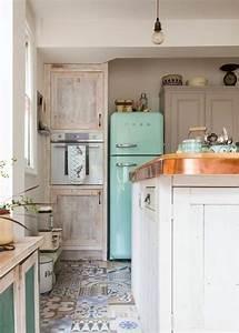 Pinterest Cuisine : d co cuisine le style r tro et vintage c t maison ~ Carolinahurricanesstore.com Idées de Décoration